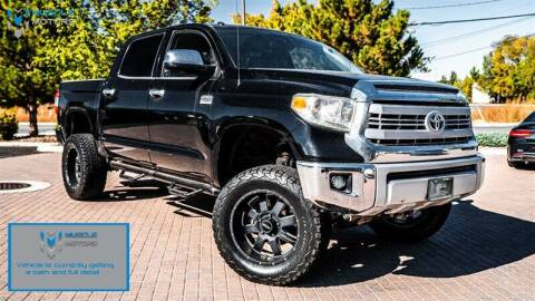 2014 Toyota Tundra for sale at MUSCLE MOTORS AUTO SALES INC in Reno NV