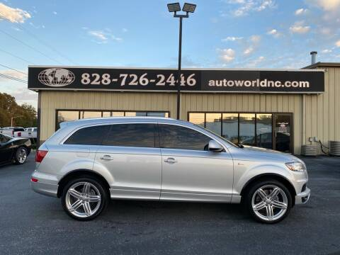 2012 Audi Q7 for sale at AutoWorld of Lenoir in Lenoir NC