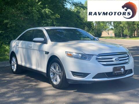 2019 Ford Taurus for sale at RAVMOTORS in Burnsville MN
