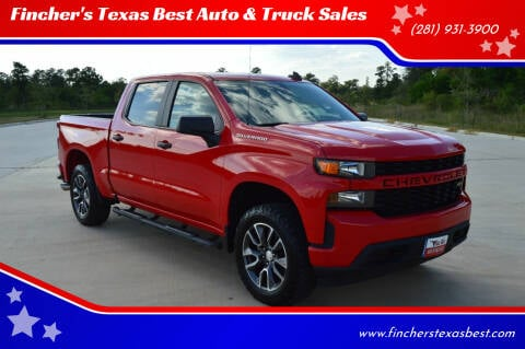 2020 Chevrolet Silverado 1500 for sale at Fincher's Texas Best Auto & Truck Sales in Tomball TX
