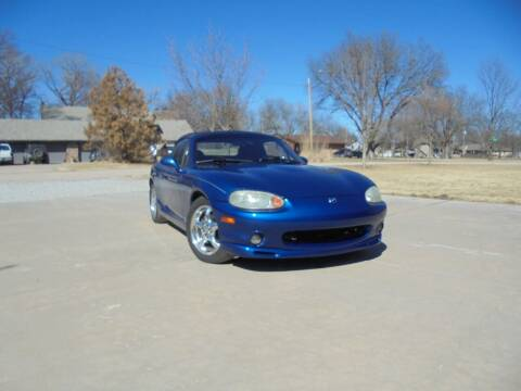 1999 Mazda MX-5 Miata for sale at D & P Sales LLC in Wichita KS