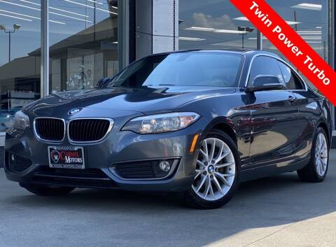 2014 BMW 2 Series for sale at Carmel Motors in Indianapolis IN