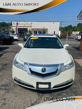 2009 Acura TL for sale at L&M Auto Import in Gastonia NC