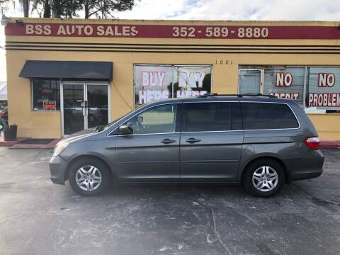 2007 Honda Odyssey for sale at BSS AUTO SALES INC in Eustis FL