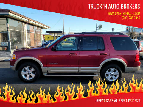 2005 Ford Explorer for sale at Truck 'N Auto Brokers in Pocatello ID