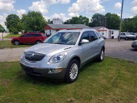 2012 Buick Enclave for sale at Bakers Car Corral in Sedalia MO