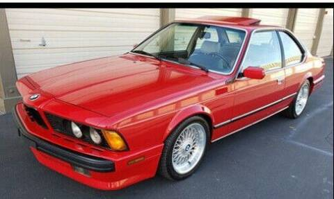 1988 BMW 6 Series for sale at Classic Car Deals in Cadillac MI