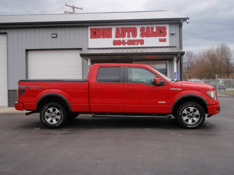 2011 Ford F-150 for sale at ENON AUTO SALES in Enon OH
