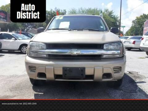 2006 Chevrolet TrailBlazer for sale at Auto District in Baytown TX