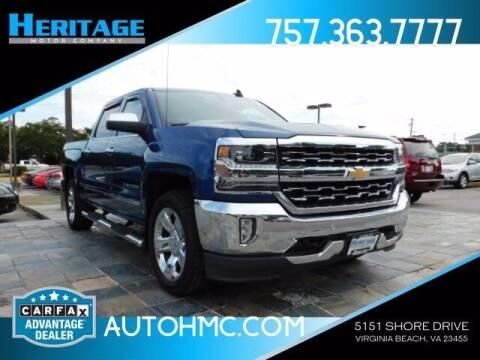 2016 Chevrolet Silverado 1500 for sale at Heritage Motor Company in Virginia Beach VA