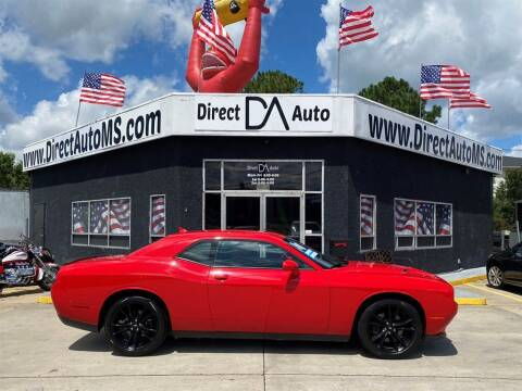 2018 Dodge Challenger for sale at Direct Auto in D'Iberville MS