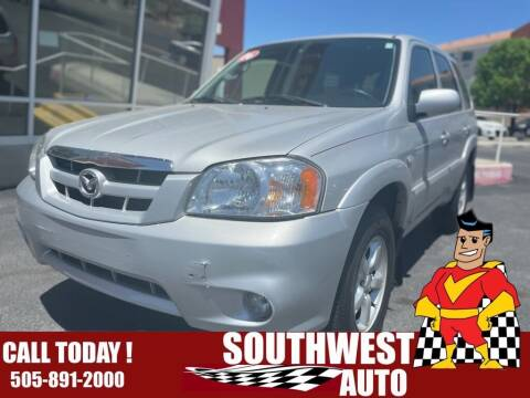 2006 Mazda Tribute for sale at SOUTHWEST AUTO in Albuquerque NM