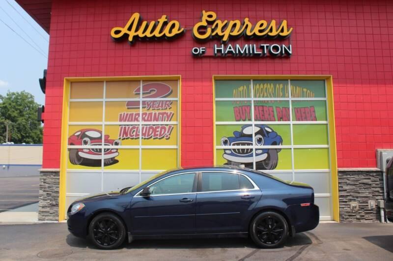 2012 Chevrolet Malibu for sale at AUTO EXPRESS OF HAMILTON LLC in Hamilton OH