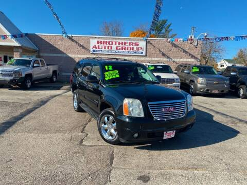 2012 GMC Yukon for sale at Brothers Auto Group in Youngstown OH