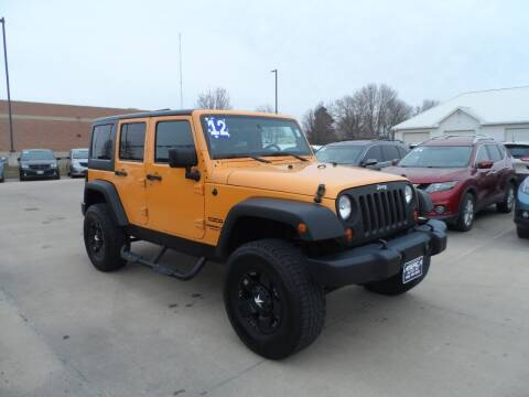 2012 Jeep Wrangler Unlimited for sale at America Auto Inc in South Sioux City NE