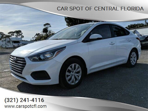 2019 Hyundai Accent for sale at Car Spot Of Central Florida in Melbourne FL