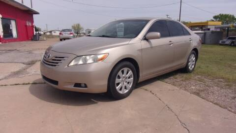 2007 Toyota Camry for sale at 6 D's Auto Sales MANNFORD in Mannford OK