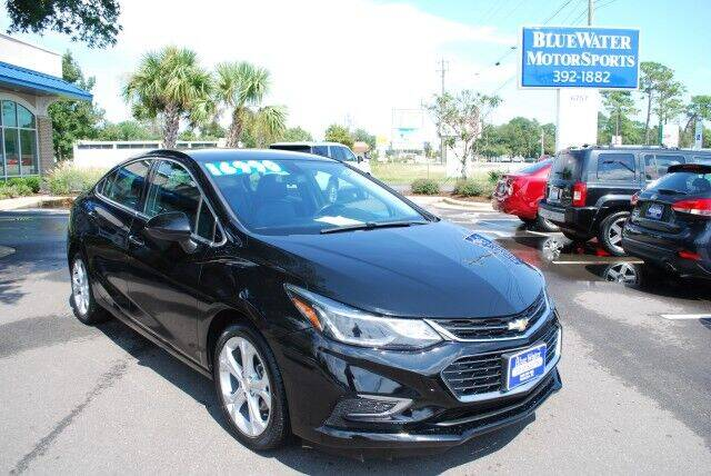 2017 Chevrolet Cruze for sale at BlueWater MotorSports in Wilmington NC