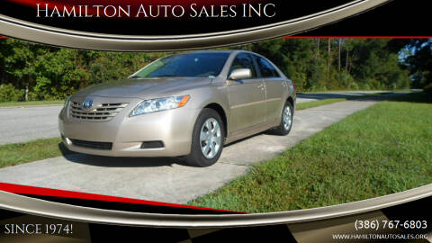 2007 Toyota Camry for sale at Hamilton Auto Sales INC in Port Orange FL