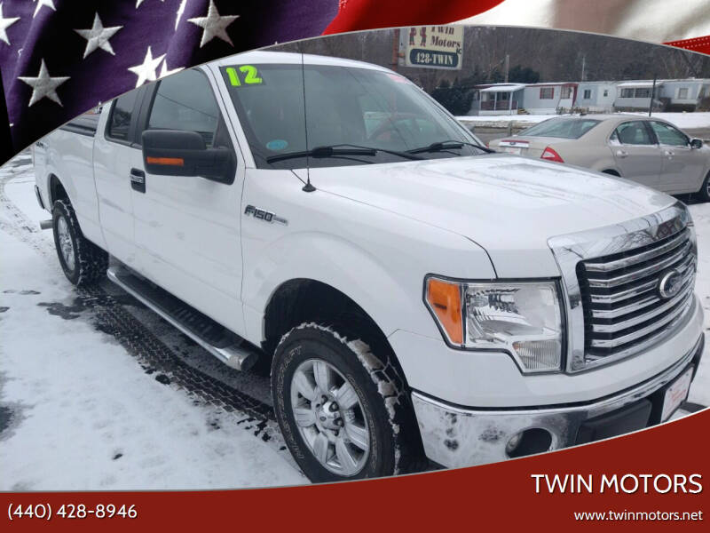 2012 Ford F-150 for sale at TWIN MOTORS in Madison OH