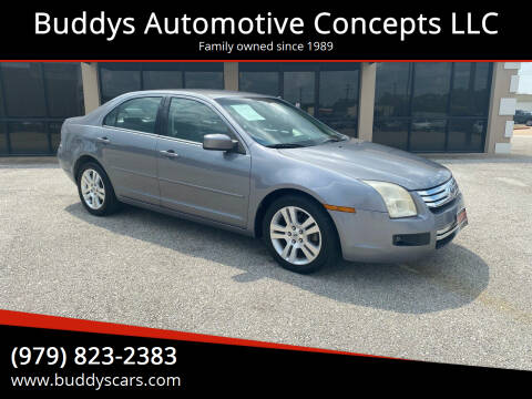 2007 Ford Fusion for sale at Buddys Automotive Concepts LLC in Bryan TX