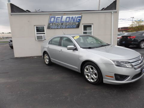 2010 Ford Fusion for sale at DeLong Auto Group in Tipton IN