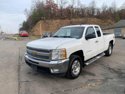 2013 Chevrolet Silverado 1500 for sale at WENTZ AUTO SALES in Lehighton PA