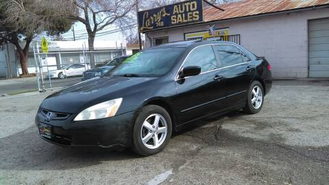 2005 Honda Accord for sale at Larry's Auto Sales Inc. in Fresno CA