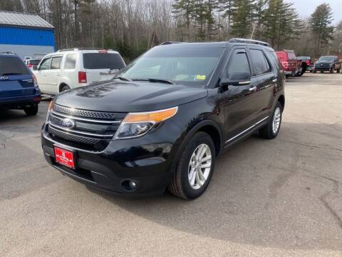 2015 Ford Explorer for sale at AutoMile Motors in Saco ME