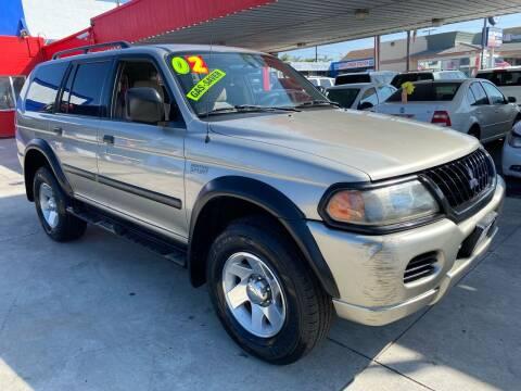 2002 Mitsubishi Montero Sport for sale at North County Auto in Oceanside CA
