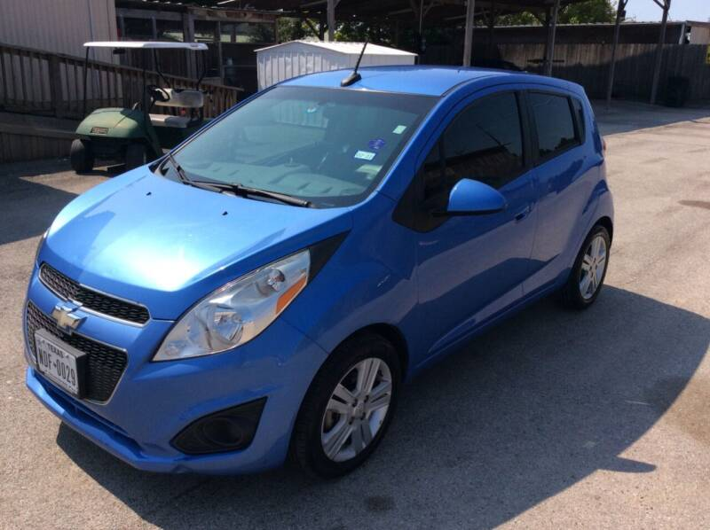 2014 Chevrolet Spark for sale at OASIS PARK & SELL in Spring TX