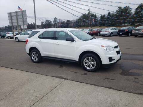 2013 Chevrolet Equinox for sale at Rum River Auto Sales in Cambridge MN