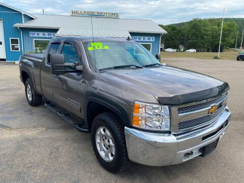 2012 Chevrolet Silverado 1500 for sale at Hillside Motors in Campbell NY
