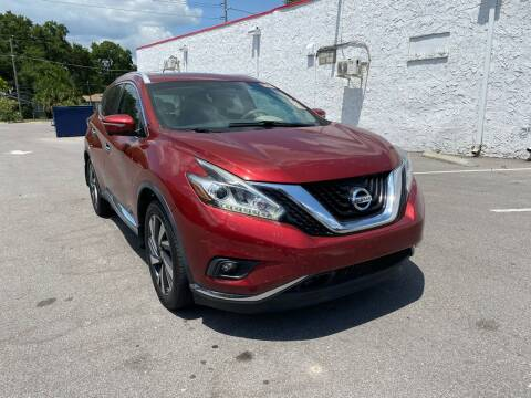 2015 Nissan Murano for sale at LUXURY AUTO MALL in Tampa FL