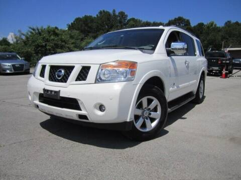 2008 Nissan Armada for sale at Atlanta Luxury Motors Inc. in Buford GA