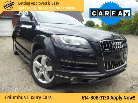 2012 Audi Q7 for sale at Columbus Luxury Cars in Columbus OH
