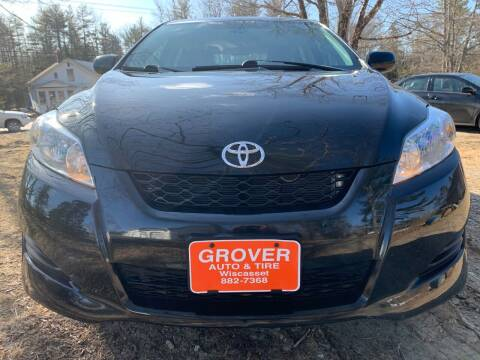 2009 Toyota Matrix for sale at GROVER AUTO & TIRE INC in Wiscasset ME