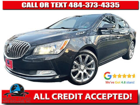 2014 Buick LaCrosse for sale at World Class Auto Exchange in Lansdowne PA