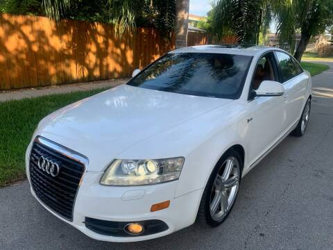 2011 Audi A6 for sale at FINANCIAL CLAIMS & SERVICING INC in Hollywood FL