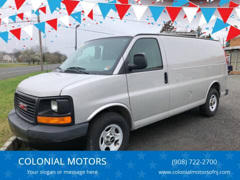 2008 GMC Savana Cargo for sale at COLONIAL MOTORS in Branchburg NJ