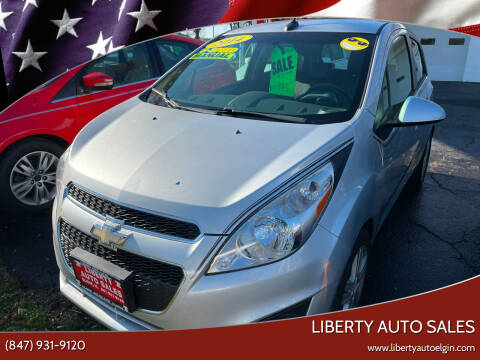 2014 Chevrolet Spark for sale at Liberty Auto Sales in Elgin IL