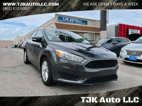 2015 Ford Focus for sale at TJK Auto LLC in Omaha NE