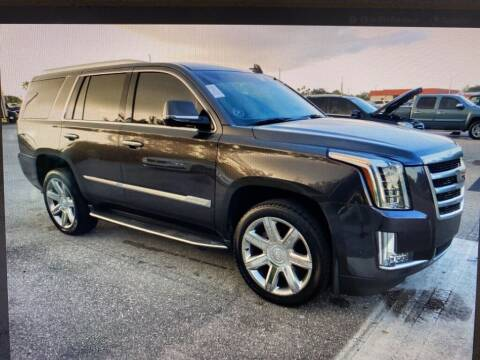 2018 Cadillac Escalade for sale at JOE BULLARD USED CARS in Mobile AL
