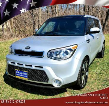 2015 Kia Soul for sale at Chicagoland Internet Auto - 410 N Vine St New Lenox IL, 60451 in New Lenox IL