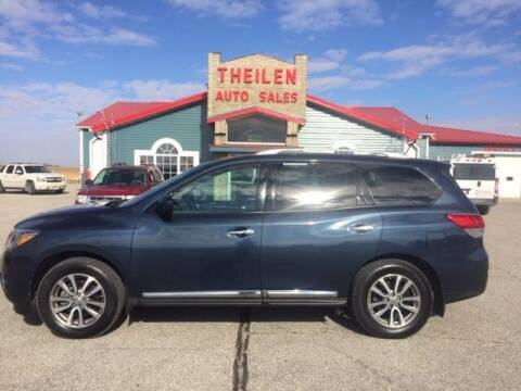 2015 Nissan Pathfinder for sale at THEILEN AUTO SALES in Clear Lake IA