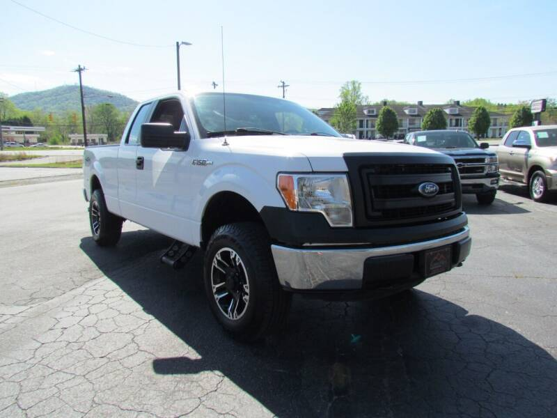 2014 Ford F-150 for sale at Hibriten Auto Mart in Lenoir NC
