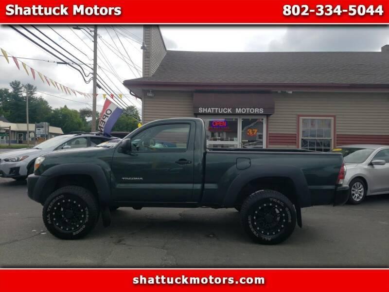 2010 Toyota Tacoma for sale at Shattuck Motors - NEKtrucks.com in Newport VT
