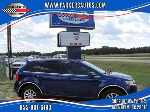 2013 Ford Edge for sale at Parker's Used Cars in Blenheim SC