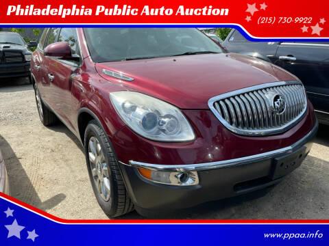2011 Buick Enclave for sale at Philadelphia Public Auto Auction in Philadelphia PA
