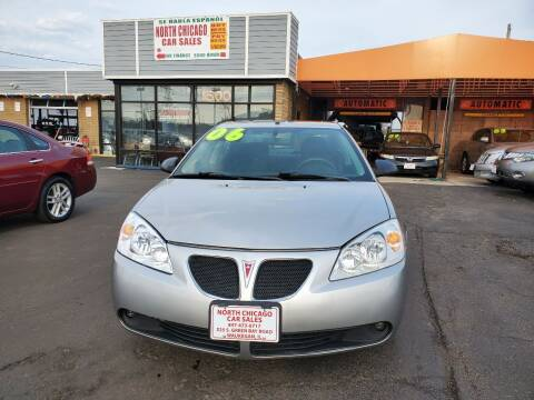 2006 Pontiac G6 for sale at North Chicago Car Sales Inc in Waukegan IL